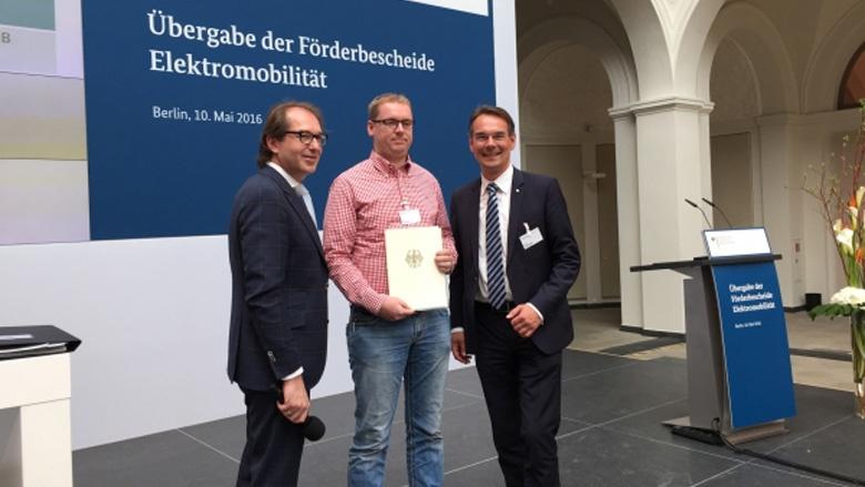 Bund fördert Elektromobilität in Nordfriesland