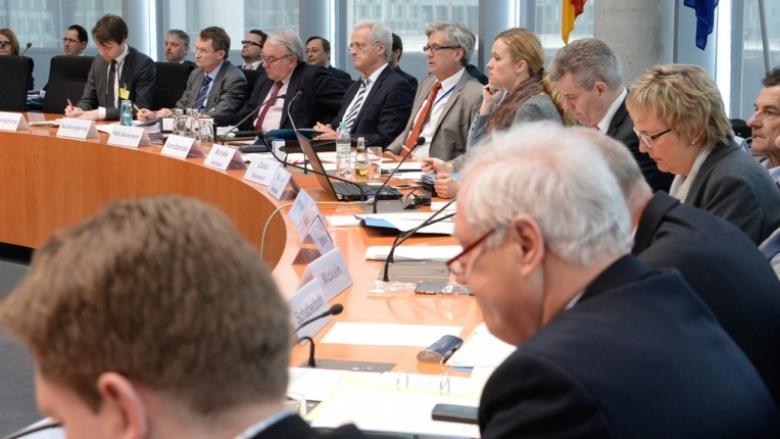 Sitzung des Wirtschaftsausschusses des Deutschen Bundestages