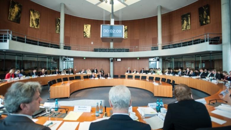 Ingbert Liebing im Wirtschaftssausschuss