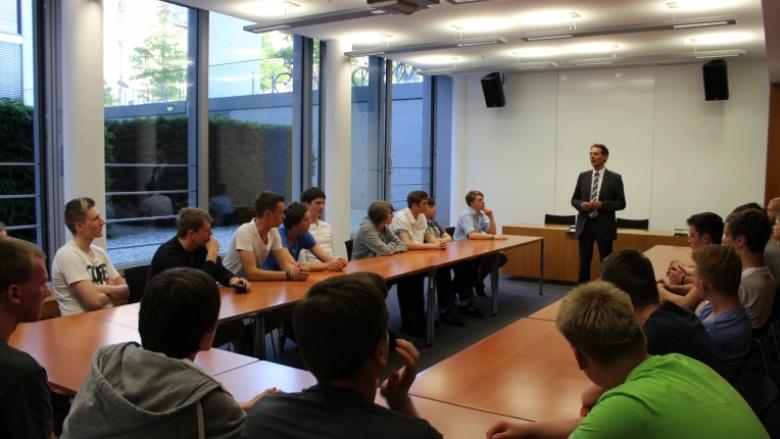 Besuch der Hermann-Tast-Schule in Berlin