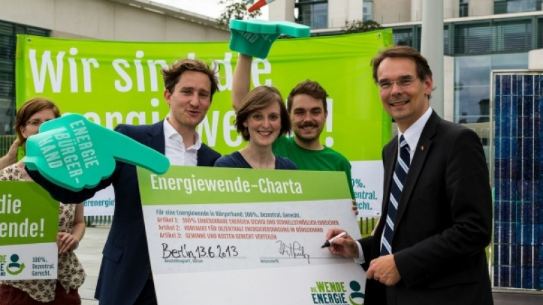 "Photo: ""Die Wende – Energie in Bürgerhand"""