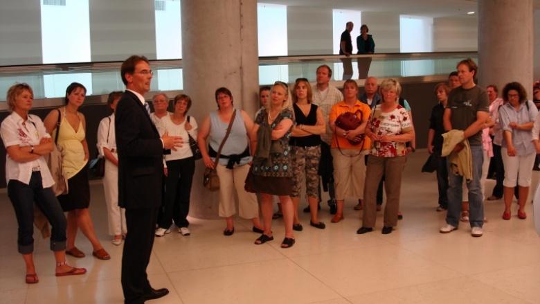 Besuch der Mitarbeiter des Amtes Landschaft Sylt in Berlin 2008